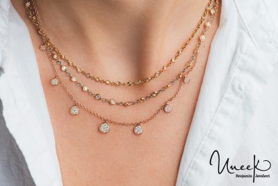 layering necklace style tips