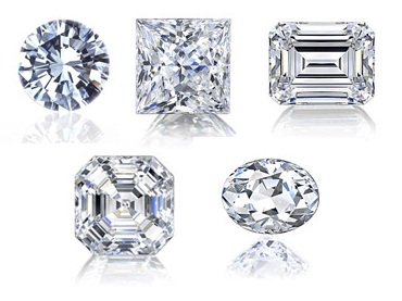 Top 5 Most Popular Diamond Engagement Ring Shapes