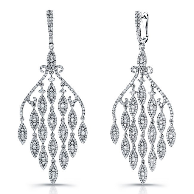 Red Diamond Chandelier Earrings: Oscar Jewelry Trends As Seen On The Red Carpet