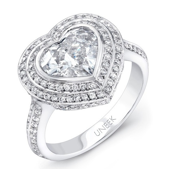 """Which Fancy Engagement Rings Made Celebrities Say """"Yes""""?"""