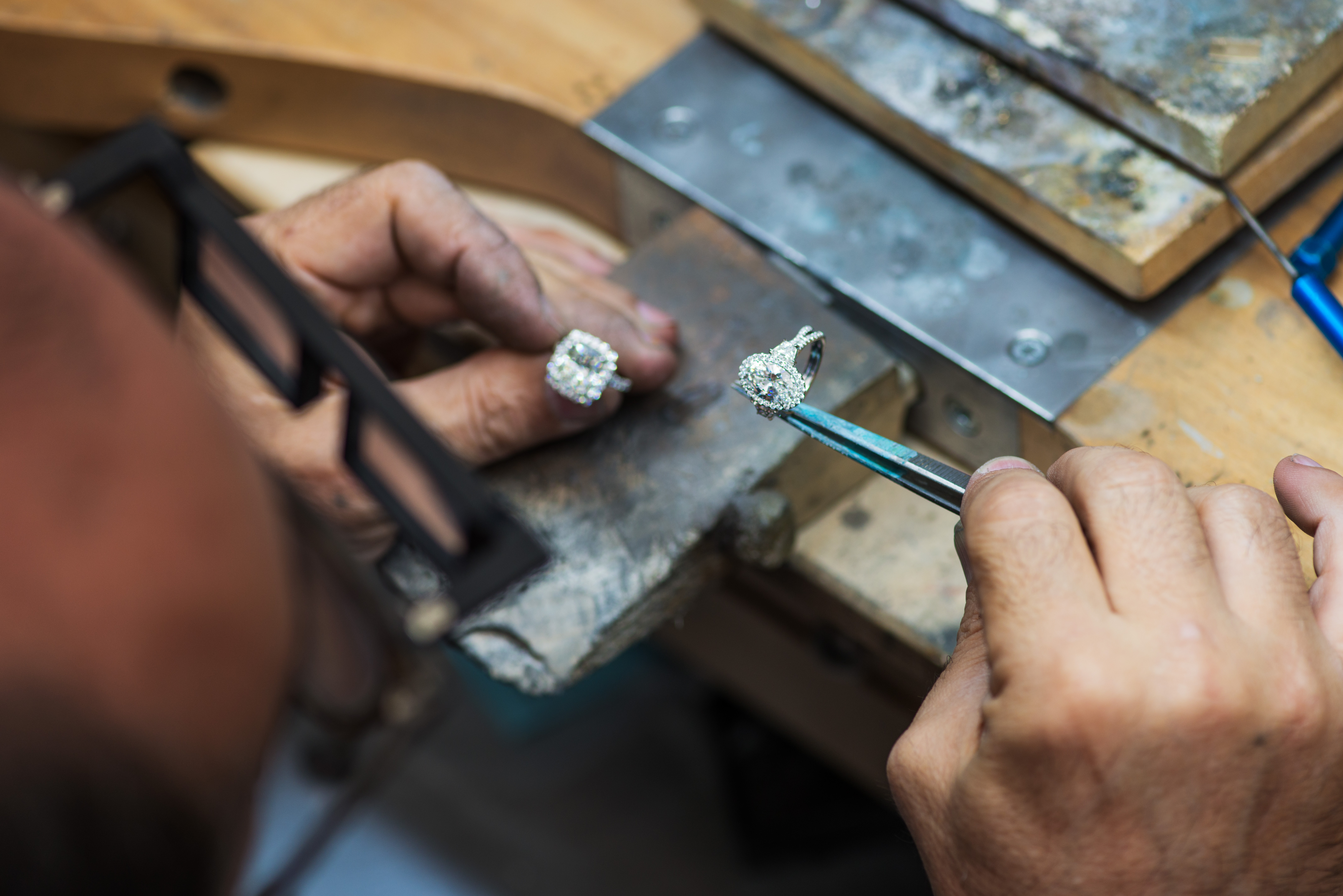 Handcrafted Difference: Finishing & Setting Our Engagement Rings