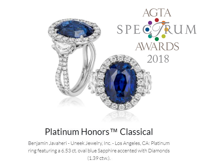 Spectrum Award 2018 Platinum Honors Classical