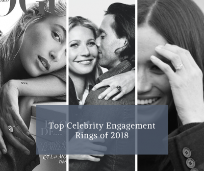 Top Celebrity Engagement Rings 2018
