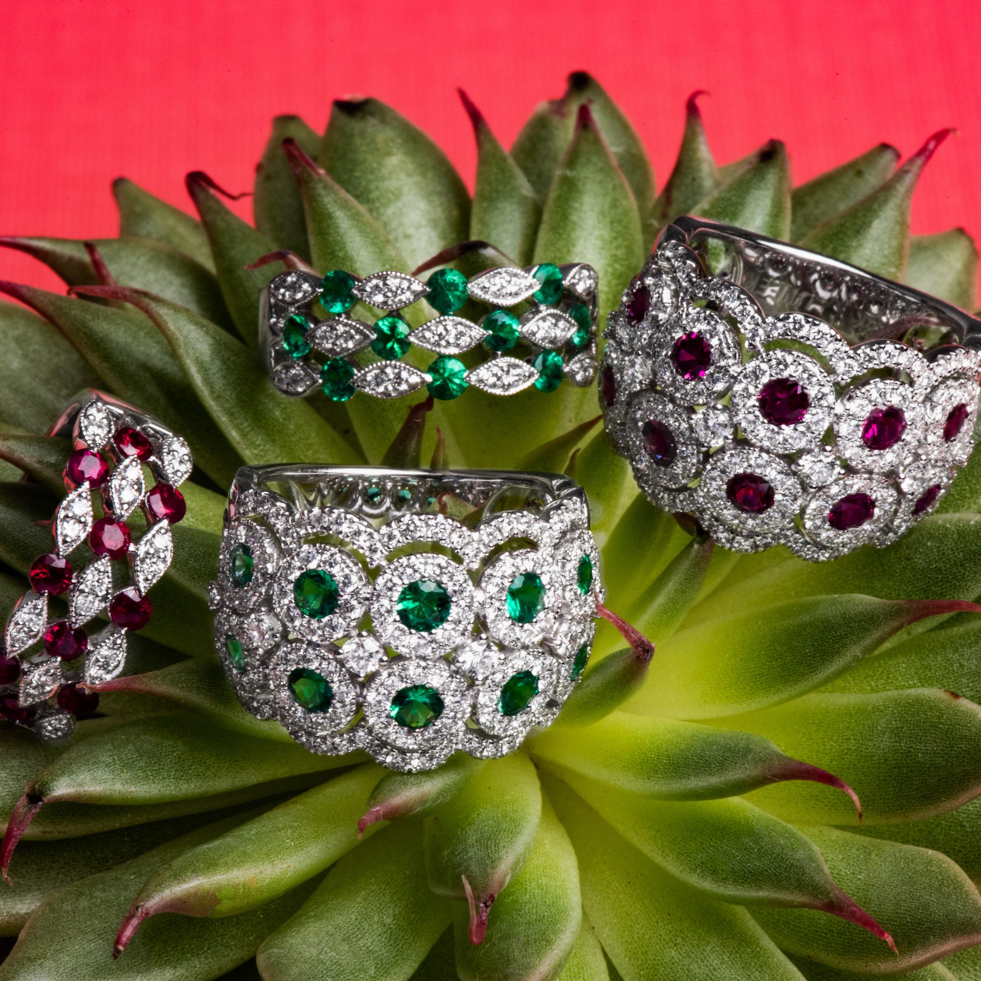 Falling for Gems: 3 Colored Gemstone Pieces We're Loving Right Now
