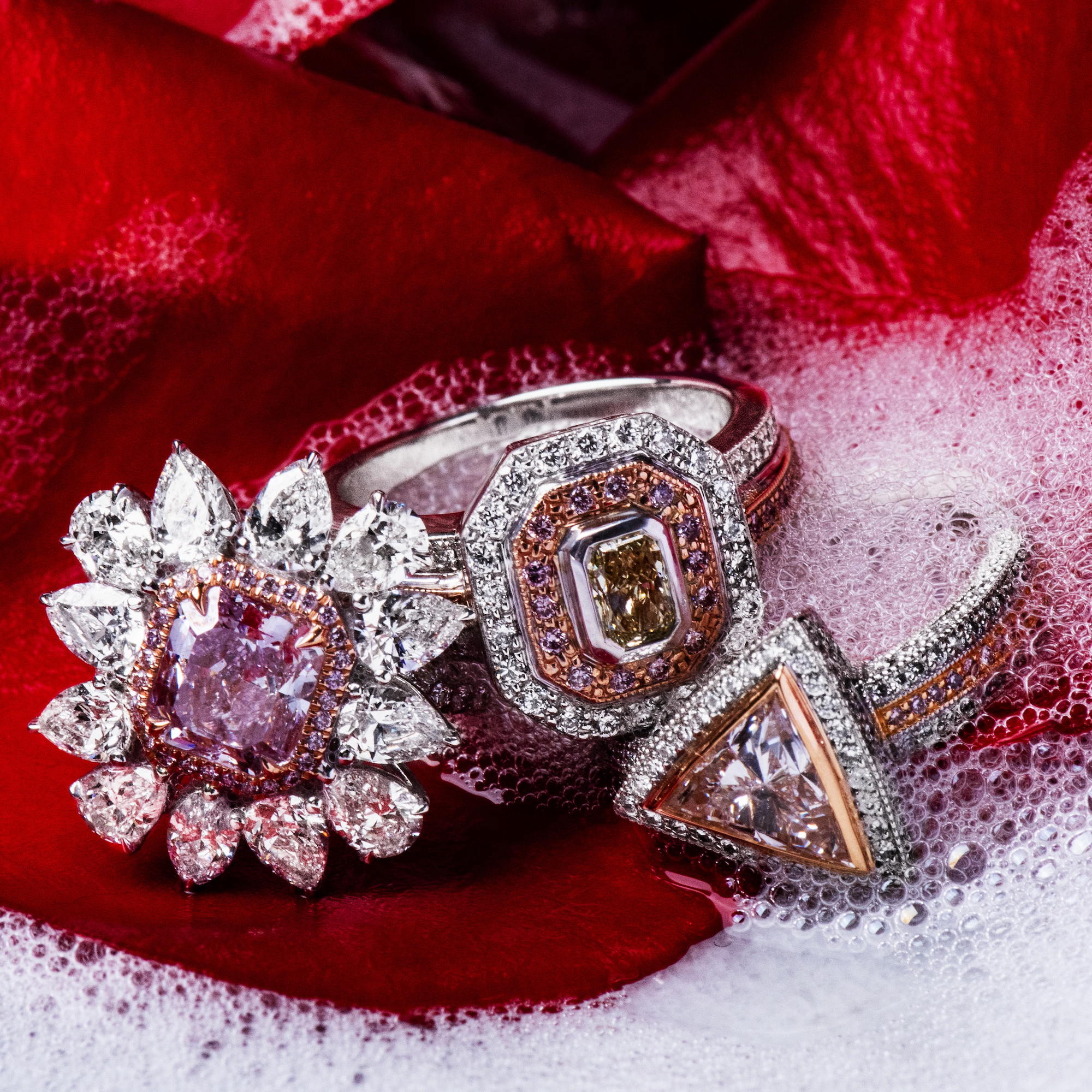 Think Pink: Meet Our NEW Pink Diamond Rings
