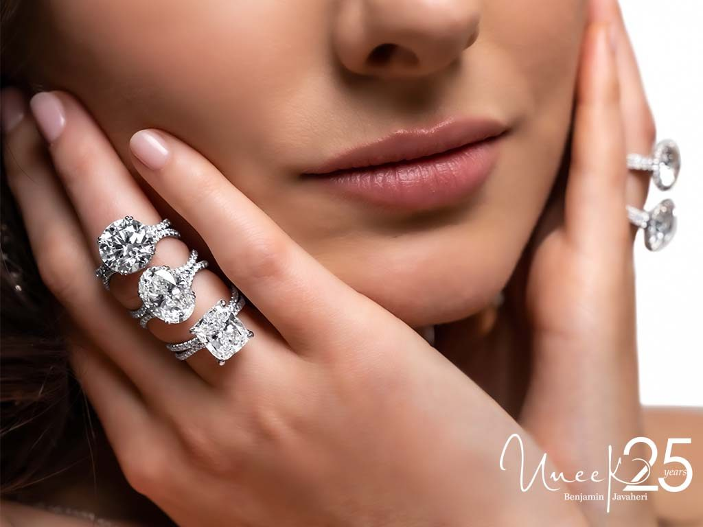 Rings: R002U (Round), R002U (Oval), LVS1050CU We've reimagined traditional styles to create an exceptional collection of engagement ring designs.