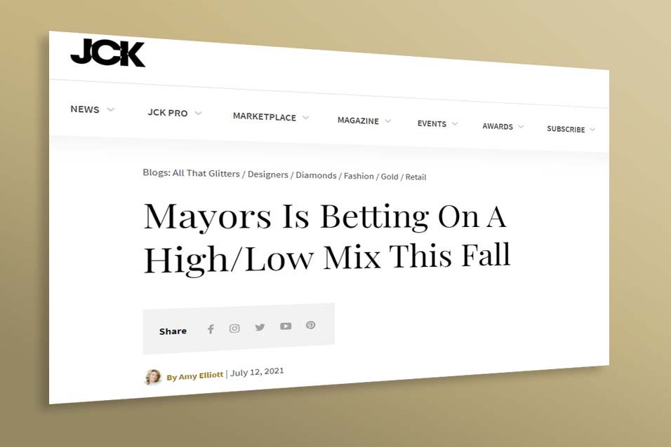 Uneek x Mayors Core Collection on JCK Online