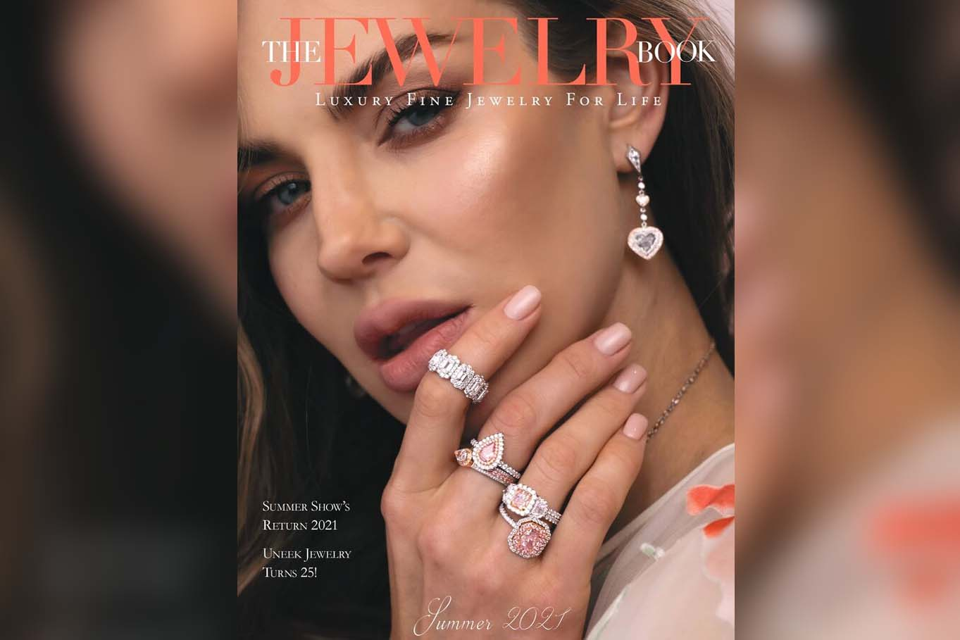 Uneek lands the cover of The Jewelry Book Summer Issue 2021