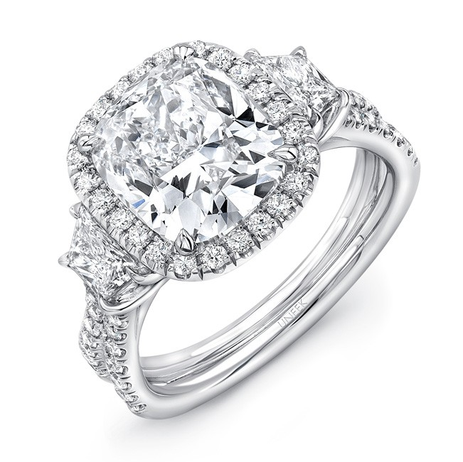 Carat Double Halo Engagement Ring