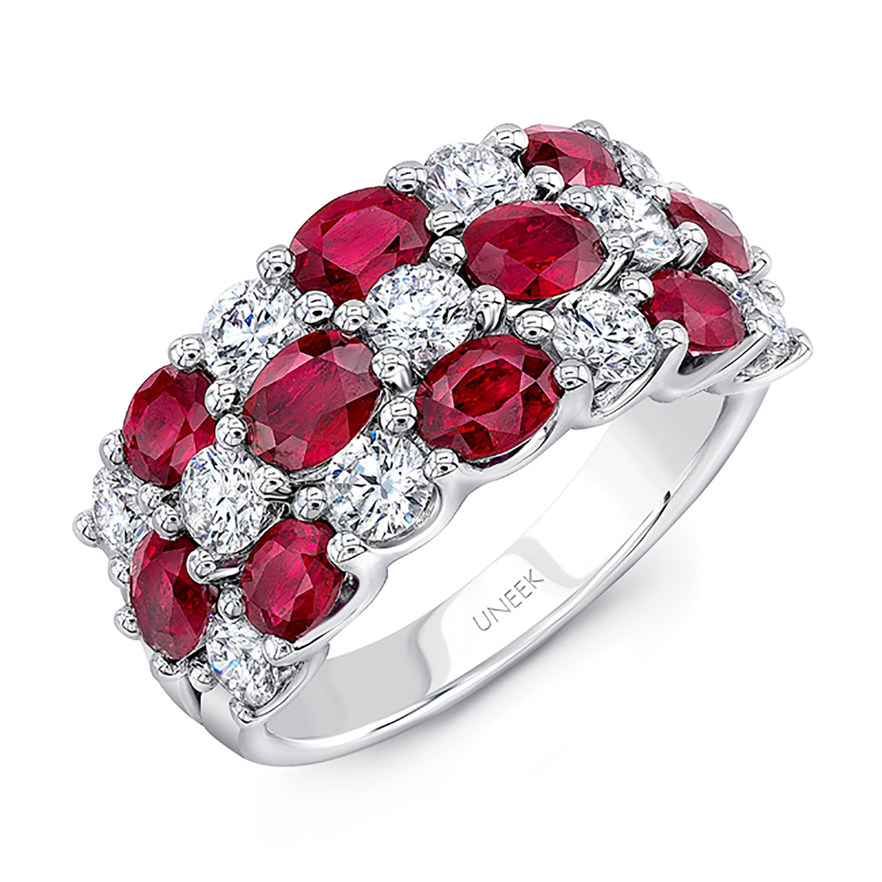 cut in rosecut diamond ring red baxtermoerman rings collections round grey halo rose