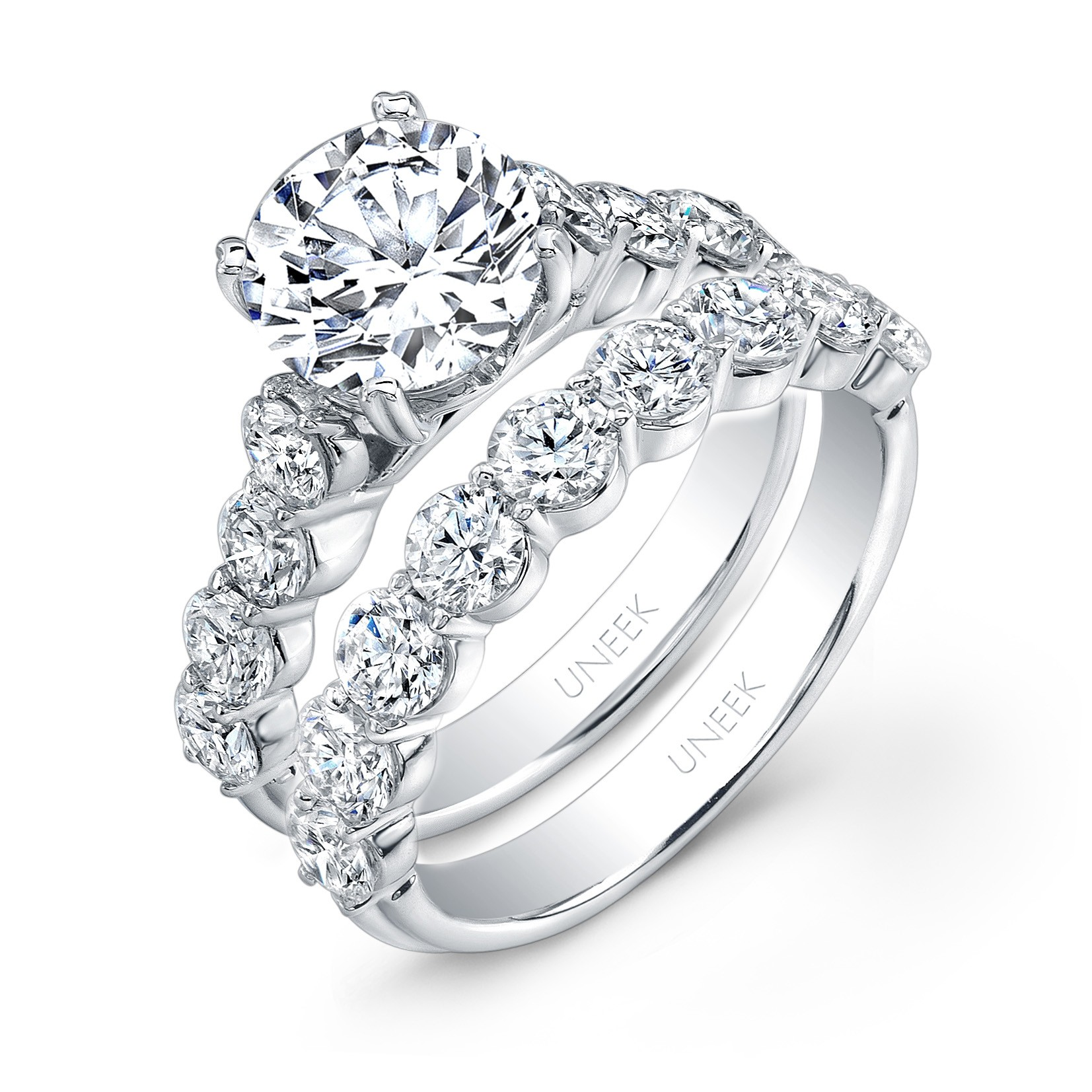 Fluted Band Ring