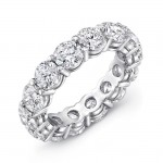 Uneek Uneek Round Diamond Eternity Band