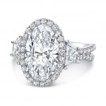 "The ""Sophistication"" Silhouette Ring/LVS983OV"