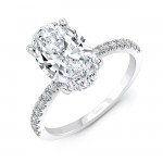 Uneek Diamond Fashion Ring, in Platinum