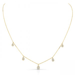 Uneek Necklace, in 14K Yellow Gold