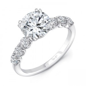 Uneek Diamond Fashion Ring, in 18K White Gold