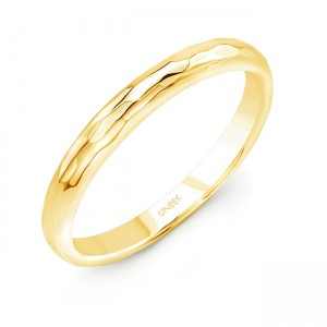 "Uneek ""Martel"" Stackable Band (Yellow Gold version)"