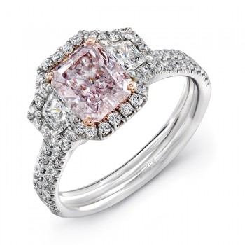 Pink Diamond Engagement Rings Rare Engagement Rings