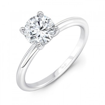 Uneek Engagement Ring in 14K White Gold - R018U