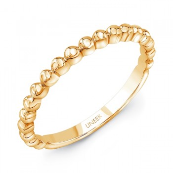 "Uneek ""Ivar"" Stackable Band (Yellow Gold version)"