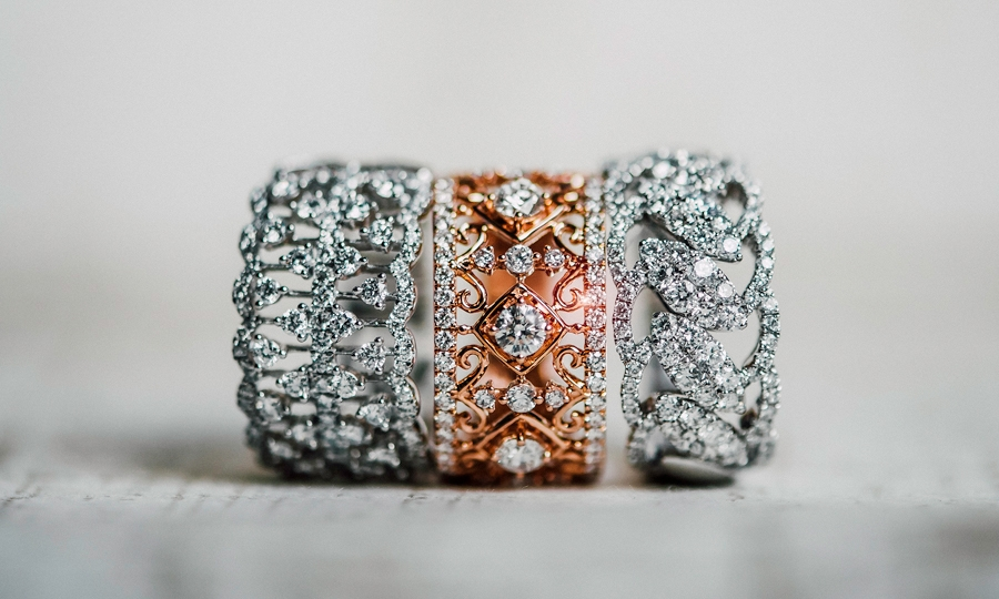 The Lace Collection - Jewelry with Intricate Openwork Filigree